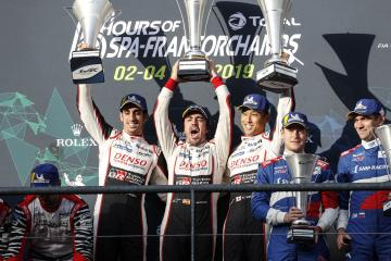 timeless design cd5a0 6efb8 FIA WEC - Second Spa success for the N°8 Toyota Michelin!