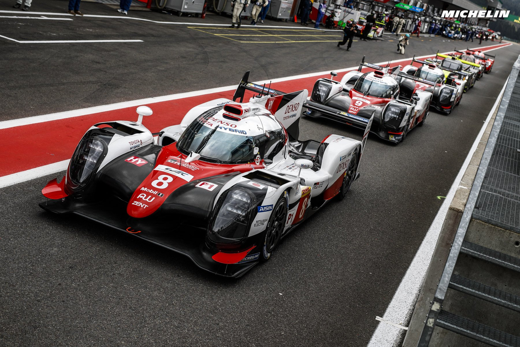 Toyota/Michelin claims Spa 1-2