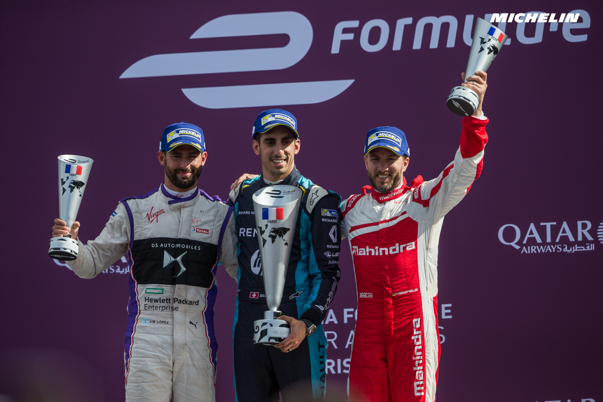 Paris ePrix: Buemi triumphs in French capital