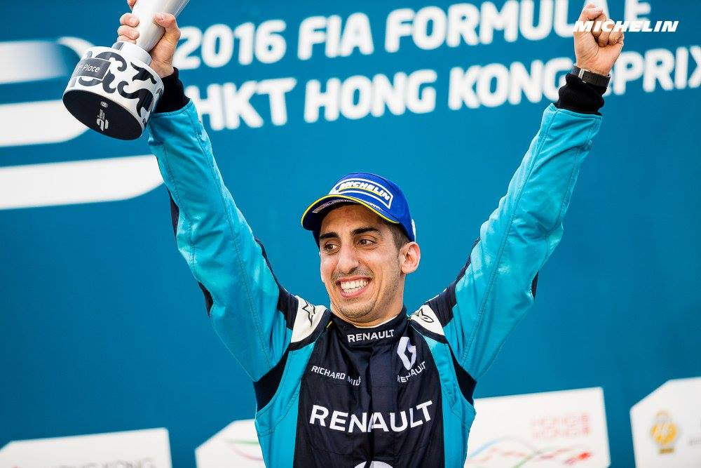 FIA Formula E: Buemi and Renault-e.dams win Season 3 opener in Hong Kong