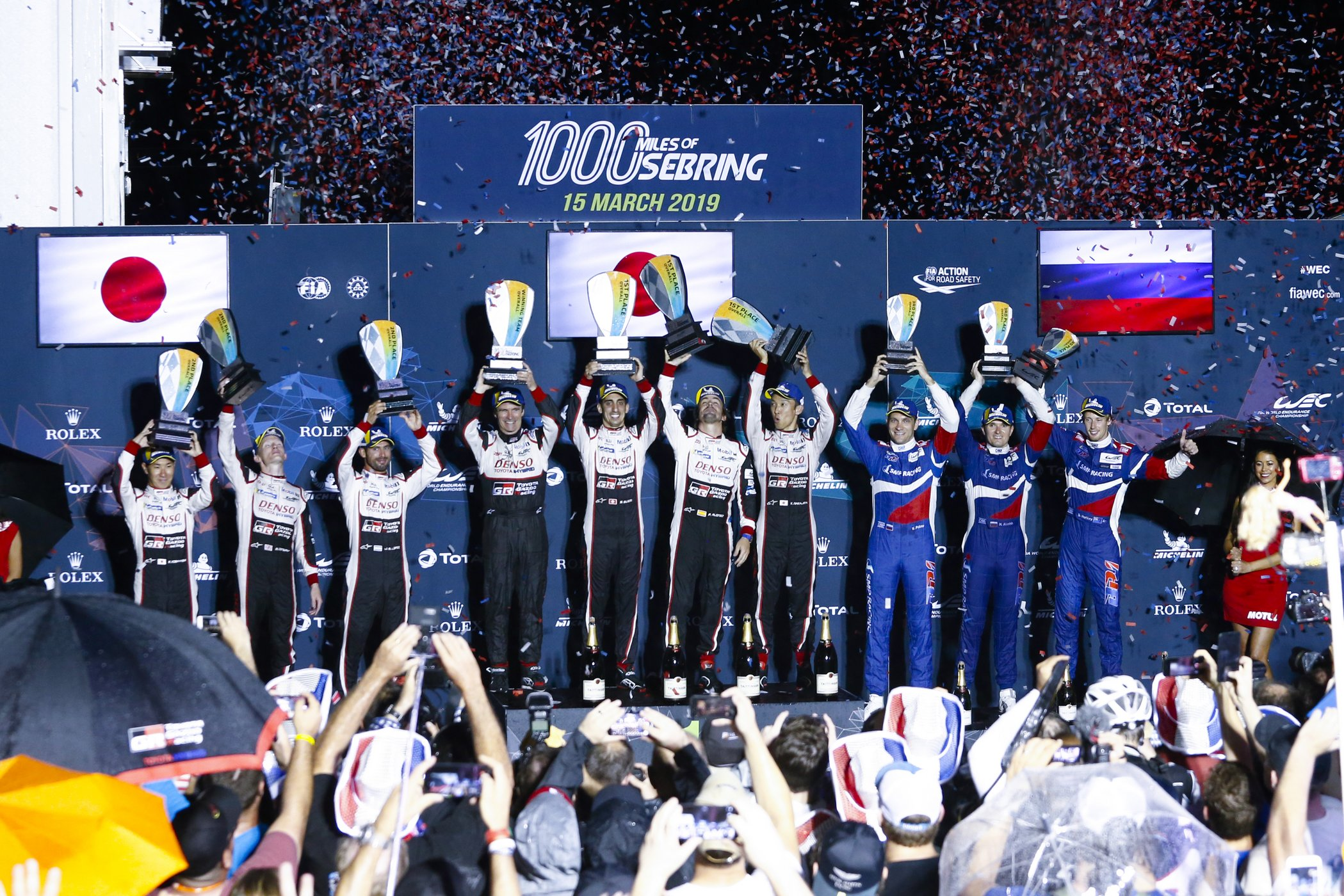 Victory at Sebring for Toyota/Michelin