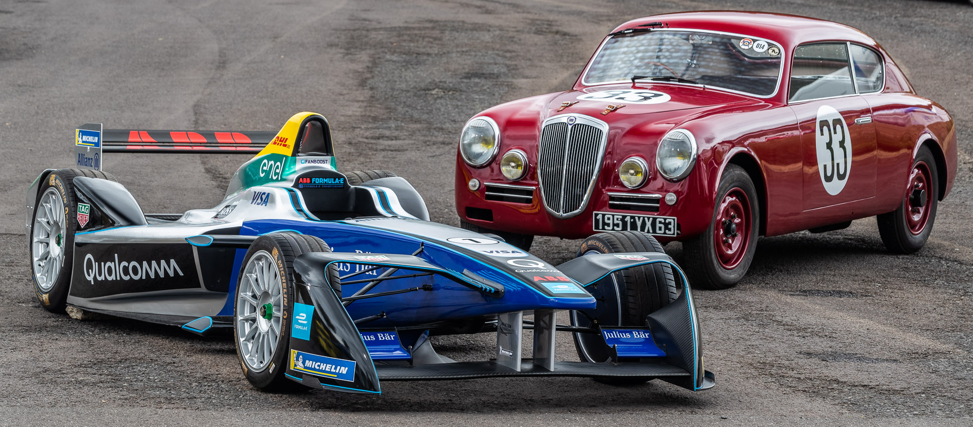 Racing today… and yesterday for tomorrow's mobility!  Motorsport heritage, from the Lancia Aurelia to Formula E