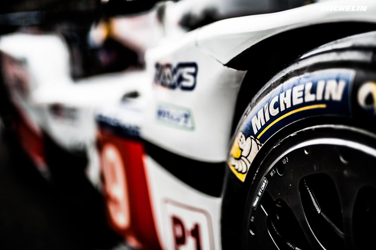 The life of a Michelin tyre down racing's most famous straight