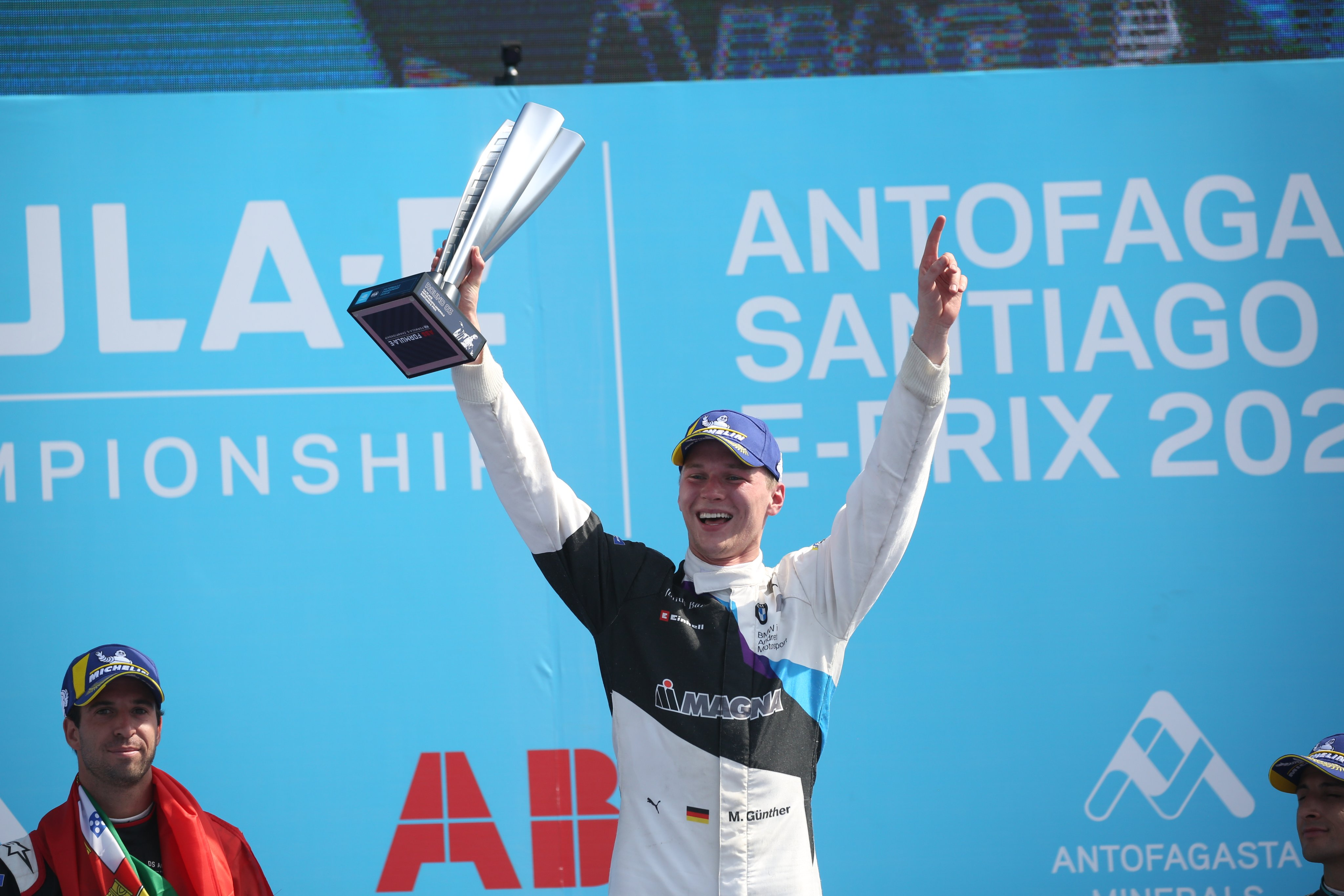 Formula E: Santiago glory for Max Günther