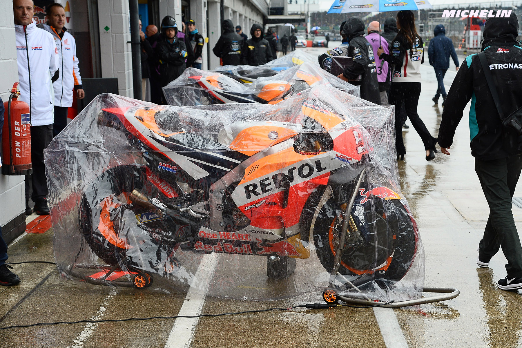 MotoGP: Britain's round washed out