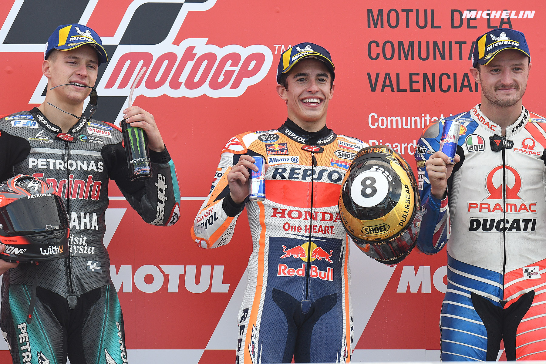 MotoGP™: Márquez wraps up 2019 with home success