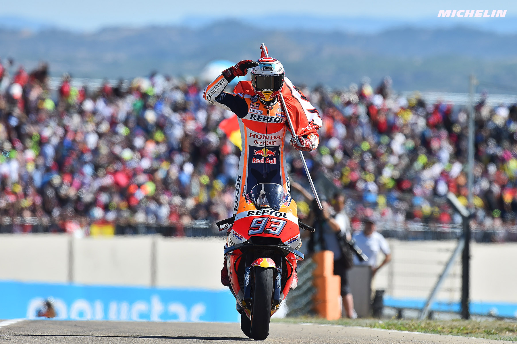 MotoGP™: Márquez (Repsol Honda Team/ Michelin) resumes winning ways at Aragon