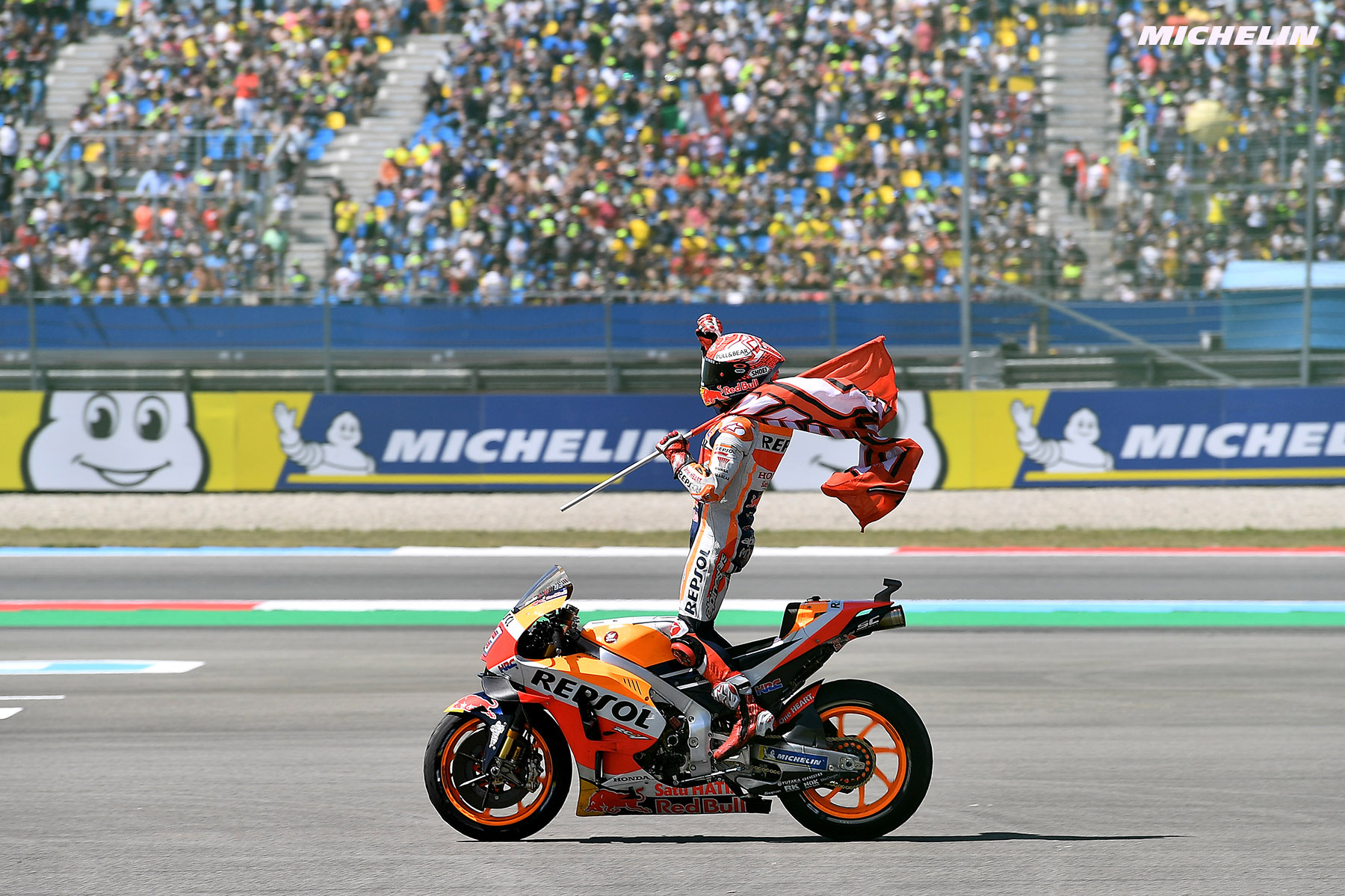 MotoGP™: Marquez and Repsol Honda Team/Michelin win incredible Motul TT Assen