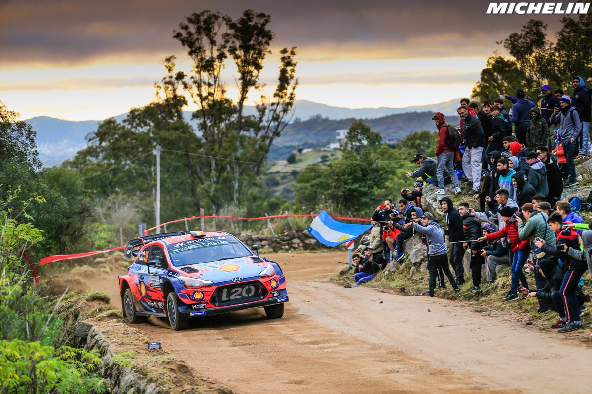 Neuville earns Michelin's 25th Rally Argentina win