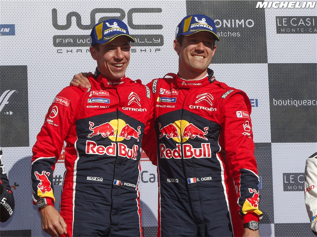 74b24947759 Ogier clinches Citroën s 100th WRC victory!   News   MICHELIN Motorsport