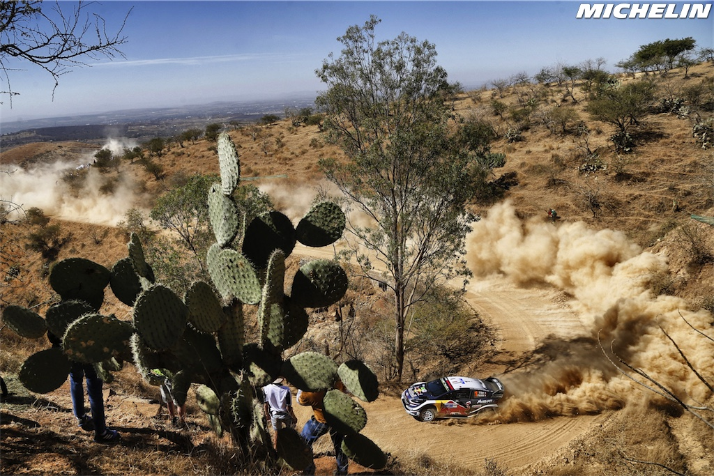 Ogier claims Mexico spoils