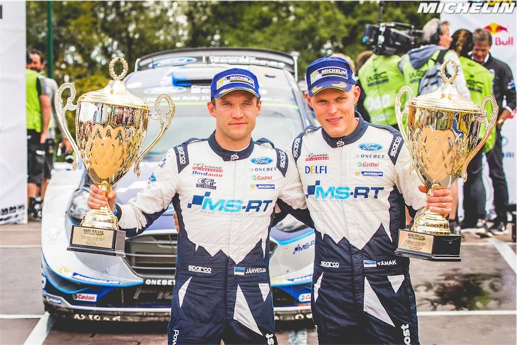 First Germany triumph for Ford/Michelin
