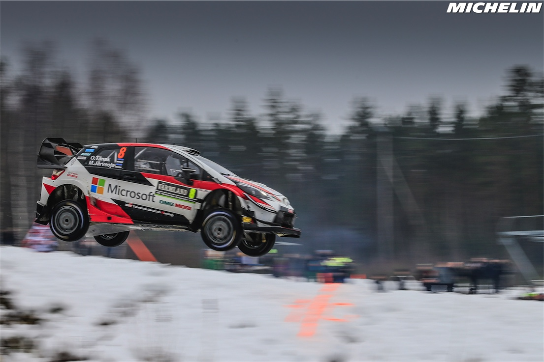 Tänak triumphs for Toyota/Michelin in Sweden
