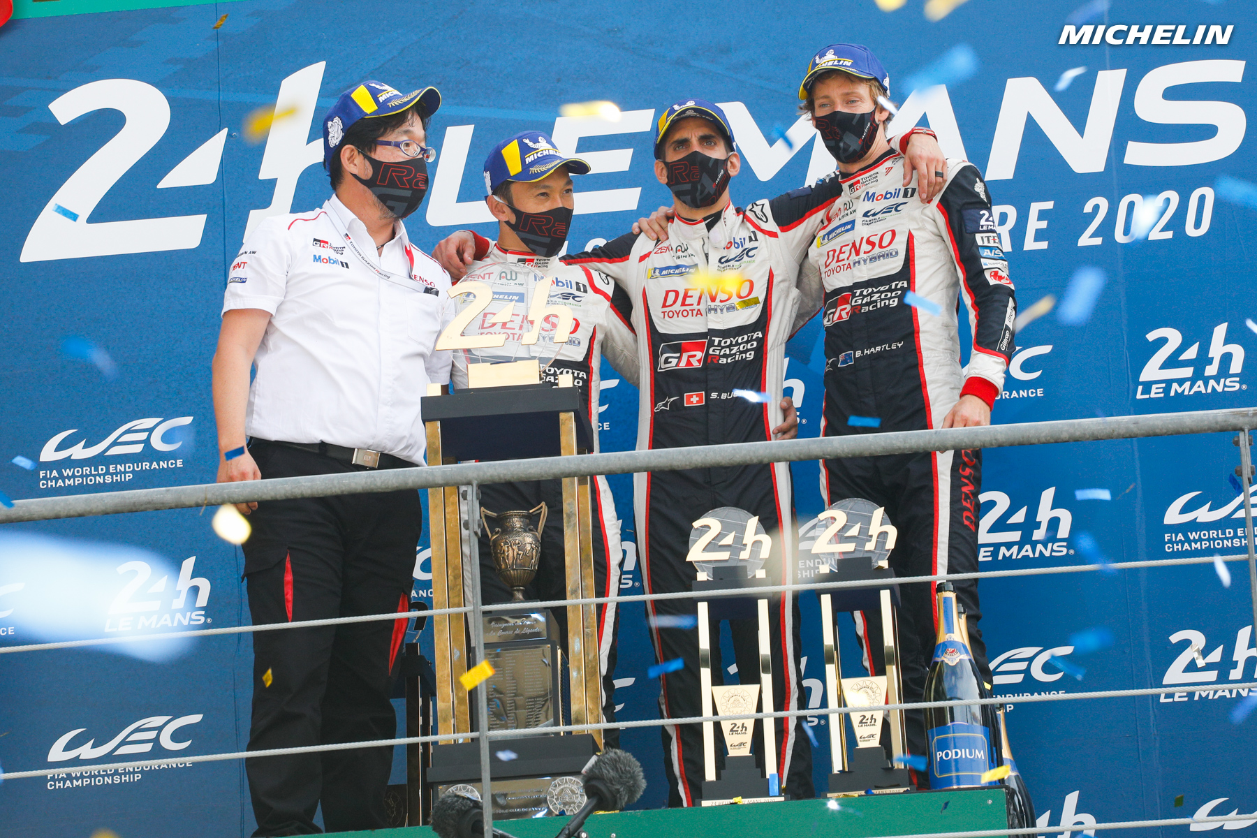 A shower of records for Michelin at Le Mans