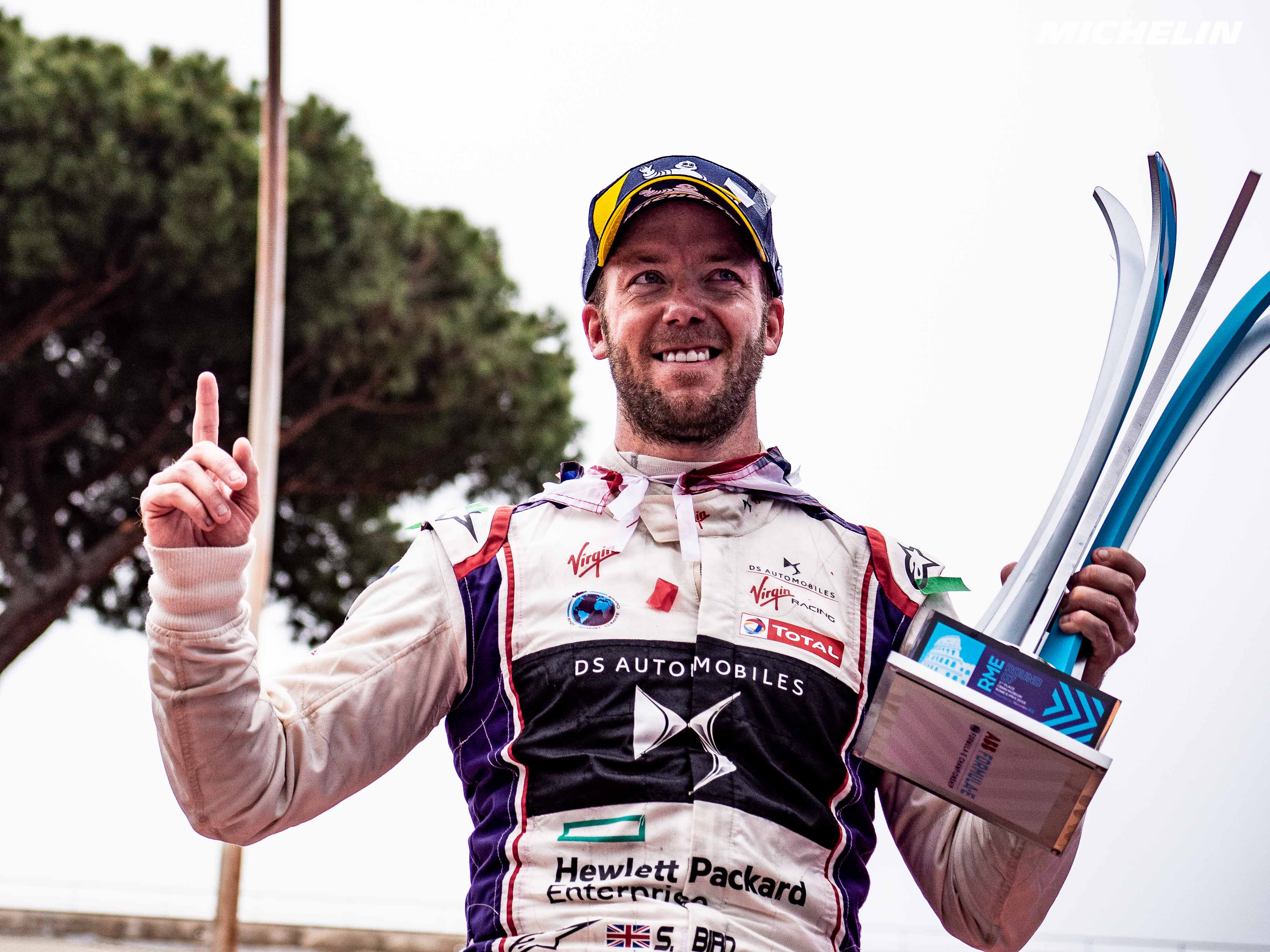 Formula-E: Bird earns Rome laurels