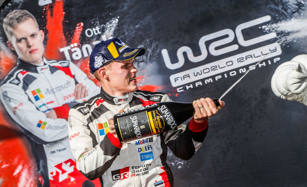 WRC: Neuville wins in Spain, while Tänak takes 2019 title* with Michelin