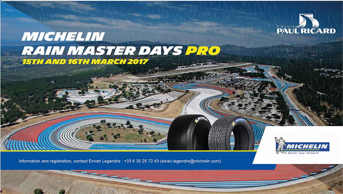 MICHELIN RAIN MASTER DAYS